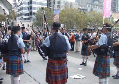 ANZAC Day City Parade '10