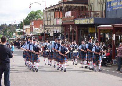 Daylesford Highland Gathering Street Parade