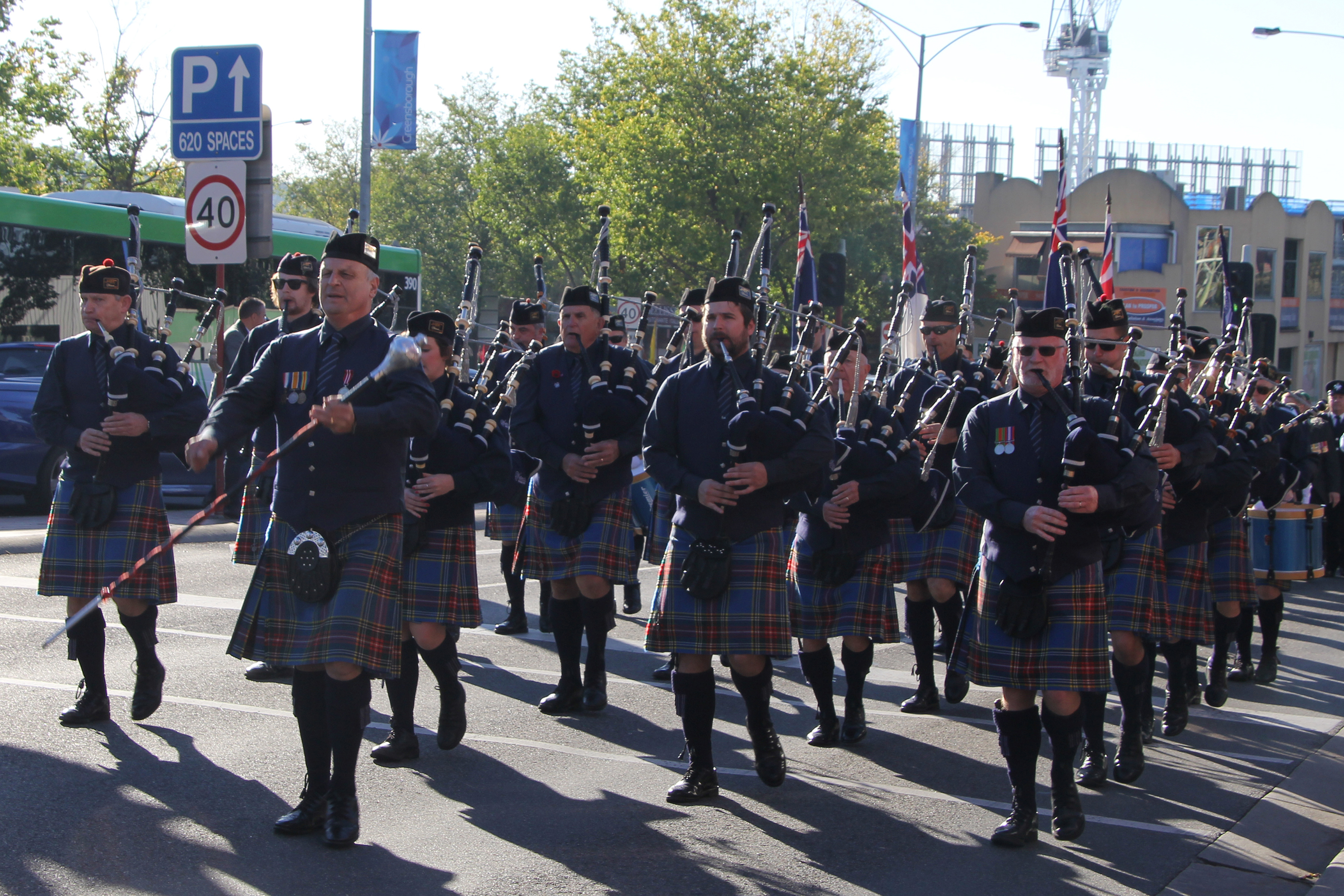 Watsonia RSL Pipes and Drums Band